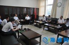 耿勇军会见中国十九冶集团华东分公司负责人
