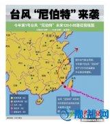 台风尼伯特今登陆福建 今年首个海浪红警发布