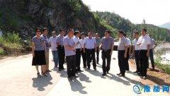 县委书记李长江深入受灾乡镇察看灾情指导救灾工作
