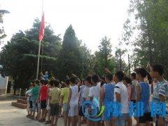 河南工业大学于河南省邓州市台湾村高山族小学纪念建党95周年活动