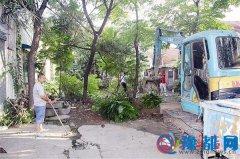 整治城中村环境 建设美好家园
