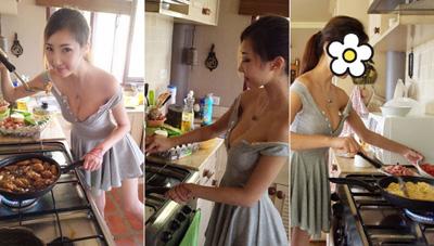 妹子上得厅堂下得厨房!煮的东西看得口水直流