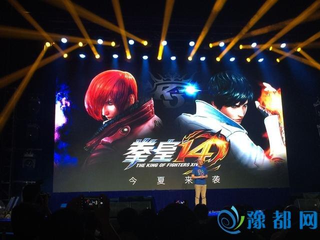《拳皇14》登陆国行PS4 简体中文版今夏发售