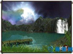 戏水胜地《猎灵》中的清溪幽湖
