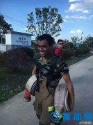 扑救6起火灾凯旋后 他的这张笑容照刷爆了微信朋友圈