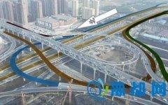郑州陇海高架至中州大道立交南匝道开通