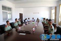淅川县人民法院看望慰问子弟兵 送去八一问候