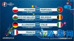 欧锦赛八强:德国意大利对碰 C罗冲4强