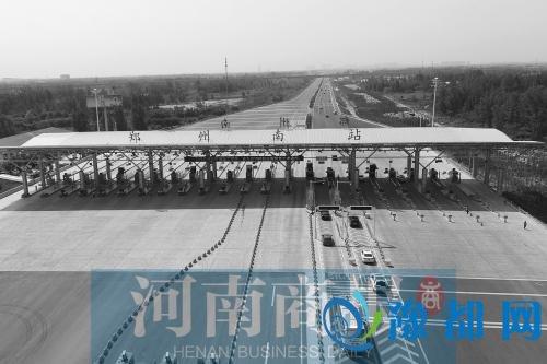 郑州机场高速改扩建施工完毕 扩为双向八车道