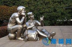 不锈钢雕塑--艺术家们智慧的结晶0