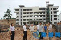 省森林公安局领导来桐视察业务技术用房建设情况
