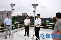 聂晓光一行检查指导大气污染治理和职业教育工作开展情况