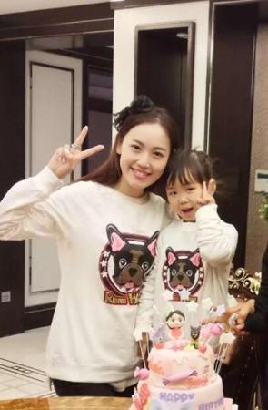 马蓉与女儿