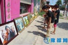 王孟镇退伍军人柯保林举办个人画展(图)