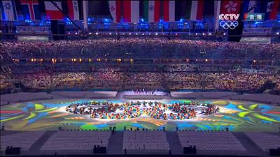 2016里约奥运会闭幕式举行 中国揽入26枚金牌排名第三