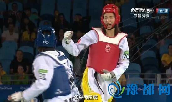 郑姝音跆拳道金牌 为中国军团拿下第25金