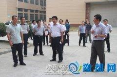 山西省大同市南郊区考察团来召调研互联网产业