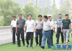 吉林省防水行业考察团来我县考察