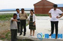 区领导实地督查扬尘污染治理和环保工作