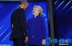 奥巴马支持率创总统第二任期新高 或帮助提振希拉里选情