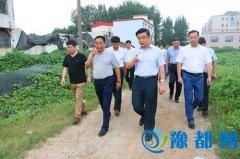 徐光华等区领导调研城建项目建设情况