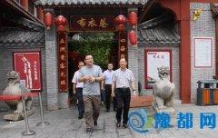 区委副书记刘少宏调研特色商业区和社区建设推进情况