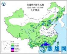 京津冀等地现分散性暴雨 局地点雨量100-180毫米