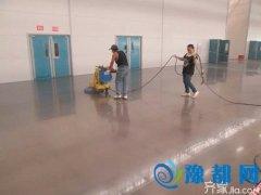 固化地坪施工要点  固化地坪特点0