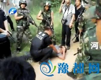 全国通缉犯胡明亮落网 连续撞击3辆警车后被抓