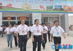 县委书记张怀德率领平舆代表团参加第十九届中国农产品加工业投资贸易洽谈会