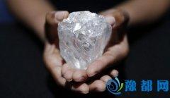 重1109克拉巨型钻石本月拍卖 个头如网球大小