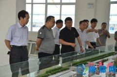 县委书记聂晓光深入到产业集聚区调研重点项目建设情况