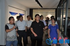 县委书记聂晓光率团到许昌市观摩考察城市建设管理工作