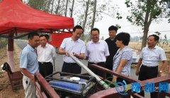 县长赵峰深入部分乡镇检查指导秋季秸秆禁烧工作