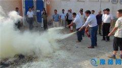 县粮食局组织召开全县粮食行业安全生产及消防培训演练会