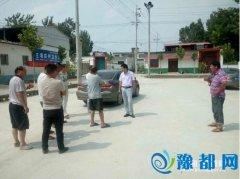 皇帝庙乡潘牛村组织参观学习示范村组建设(图)