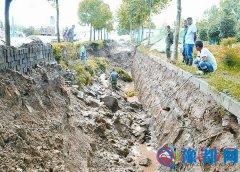 供水管道断裂 产业集聚区部分区域停水三天