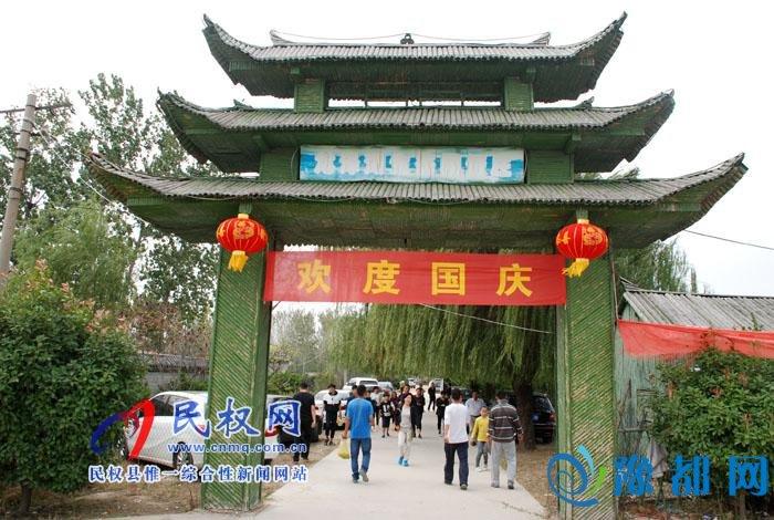 黄河故道国家湿地公园成为民权县旅游新地标
