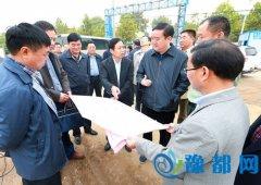 张荣海视察我区保障性住房建设管理工作