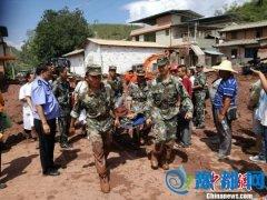 云南元谋泥石流已致1人失联7人受伤 8000余人转移
