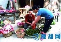 """贵州流行重口味""""牛粪火锅""""?! 你敢来试试么?"""