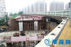 缓解河医立交西向东上京广快速路压力 高阳桥西向东拓宽两个车道