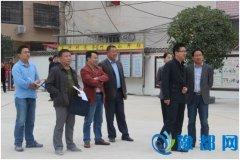 市委宣传部领导到长竹园乡指导综合文化服务中心建设工作