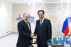 俄罗斯总统普京接受新华社社长独家专访