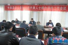 平舆县非公有制经济代表人士综合评价工作会召开