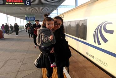 许昌至上海高铁始发车开通运行