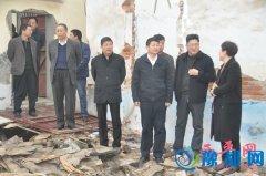 县委书记聂晓光深入部分乡镇调研指导贫困村基础设施建设工作