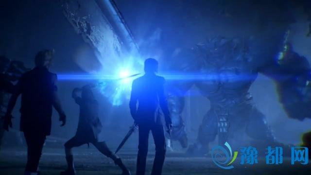 《最终幻想15》真人发售预告 四基友大战巨兽
