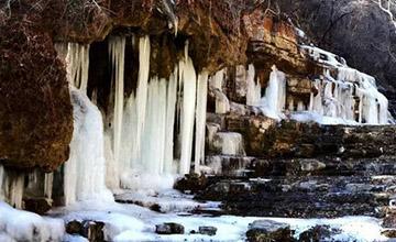 水墨南太行 可遇不可求的冬季美景