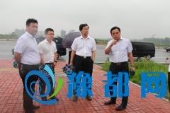 省住建厅一行领导莅临温泉镇进行专项督导